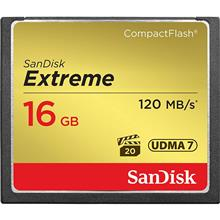 SanDisk CompactFlash Memory Card 800X Extreme 16GB
